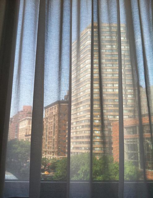 BUILDINGS THRU CURTAINS NYC